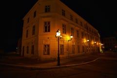 Projectile de nuit Images libres de droits