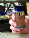 Projectile de Tequila Photos libres de droits