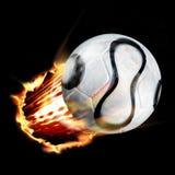 projectile du football illustration libre de droits