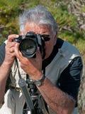 Projectile franc de photographe Image libre de droits