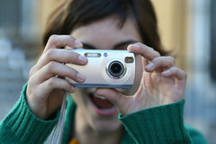 Projectile instantané Images libres de droits