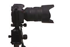 Projectile latéral de l'appareil photo numérique DSLR photo stock