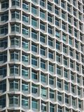 Projectile partiel Semi-abstract de gratte-ciel Images libres de droits