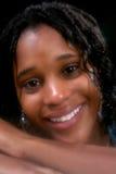 Projectile principal de beau de l'adolescence de sourire photographie stock libre de droits