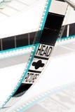 projection de film de 35mm Photos libres de droits