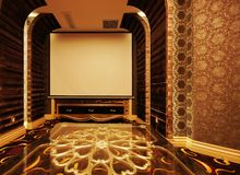 The projection room Royalty Free Stock Photos