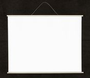 Projection screen Stock Photo