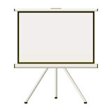 Projection screen Stock Images