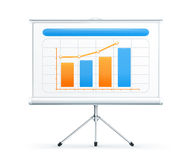 Projection screen Royalty Free Stock Image