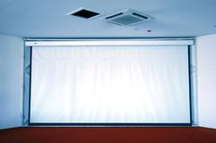 Projection screen Stock Photography