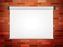 Projection screen Royalty Free Stock Photography