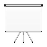 Projection screen Royalty Free Stock Images
