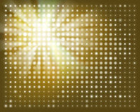 Projection screen. Vector illustration. Stock Photo