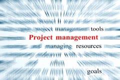 Projectleiding Royalty-vrije Stock Foto