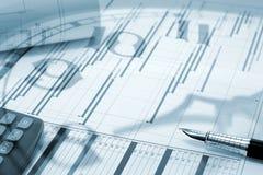 Projectleiding - het concept van de Tijd Stock Afbeelding