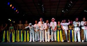Projecto Axe en el festival de jazz de Umbría Imagen de archivo