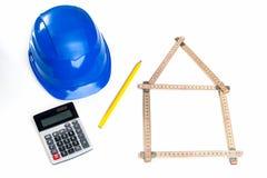 Projecto imobiliário Imagens de Stock