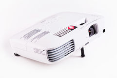 Projector. Full Hd resolution projector for presentations and conferences royalty free stock photos
