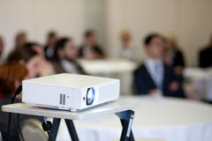 Projector. In business meeting room Royalty Free Stock Photography