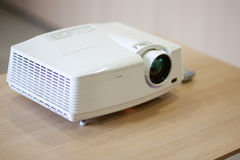 Projector. In a meeting room stock photo