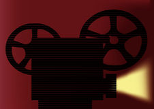 Projector. This image is a vector illustration and can be scaled to any size without loss of resolution. This image will download as an EPS file. You will need a Stock Photo