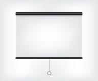 Projector blank screen Stock Photos