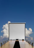 Projector clouds sky Stock Images