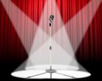 Projector do microfone Imagens de Stock Royalty Free