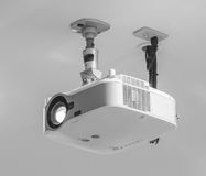 Projector. Hang on ceiling in meeting room Stock Photography