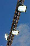 Projector Lights Stock Photo
