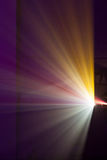 Projector lights Royalty Free Stock Images