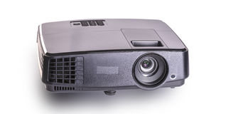 Projector multimedia black colour Stock Photo