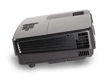 Projector multimedia black colour Royalty Free Stock Image