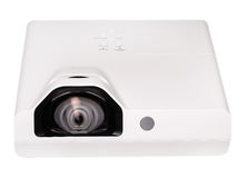 Projector multimedia white colour Royalty Free Stock Image