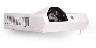 Projector multimedia white colour Royalty Free Stock Photo