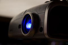Projector in office room ready for presentation Royalty Free Stock Photo