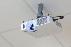 Projector op het plafond Stock Foto