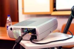 Projector op presentatie Stock Fotografie