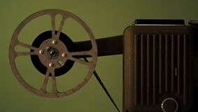 Projector stock footage