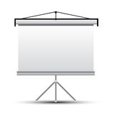 Projector screen Stock Photography