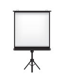 Projector screen illustration Stock Photos
