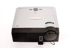 Projector set. On abstract background royalty free stock images