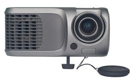 Projector view frontal Royalty Free Stock Photos