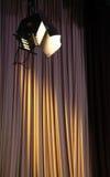 Projectores do estúdio imagens de stock
