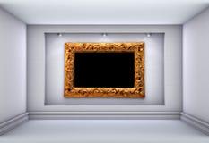 Projectores e frame de retrato para a exibição Imagens de Stock Royalty Free