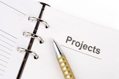 Projects stock photos