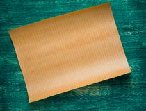 Projects of hous on the wooden background Royalty Free Stock Photo