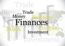 projektów abstrakcjonistyczni finanse ilustracja wektor