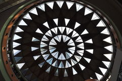 projektów dachu sylwetka Fotografia Stock