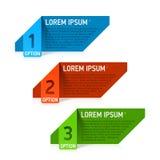 Projektów elementów szablon Obrazy Stock
